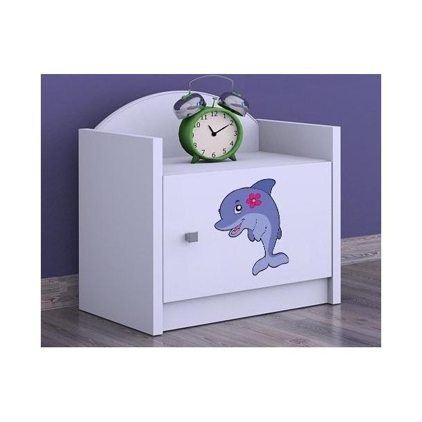Detský nočný stolík DELFÍN - TYP 3