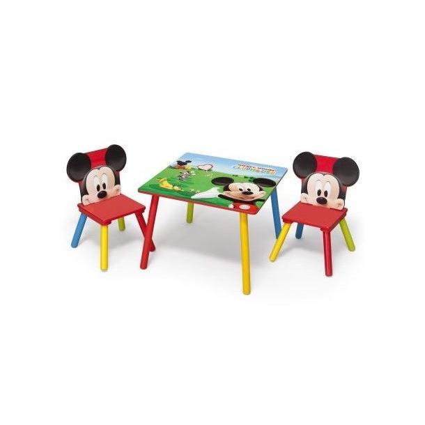 b9a58575022f Detský stôl s stoličkami Myšák Mickey II ...