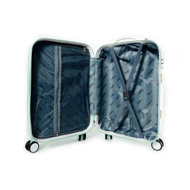 Moderné cestovné kufre DIAMOND - mätové
