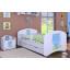 Detská posteľ so zásuvkou 160x80cm MODRÝ MACKO