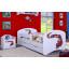 Detská posteľ so zásuvkou 160x80cm MAŠINKA