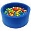 Detský molitanový bazénik - modrý