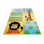 Detský koberec AFRIKA blue
