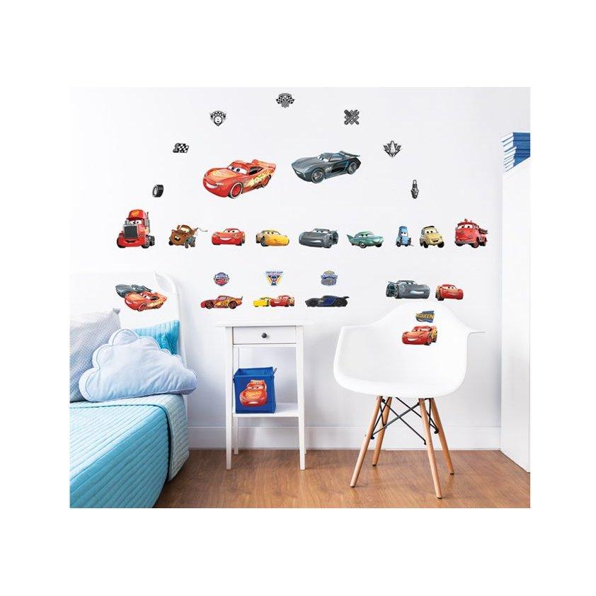 97167c83e2b1 Detské samolepky Disney - CARS 3 ...