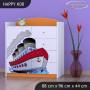 Detská komoda lodička - TYP 8