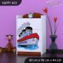 Detská komoda lodička - TYP 3