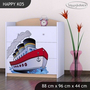 Detská komoda lodička - TYP 5