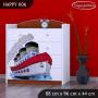 Detská komoda lodička - TYP 6