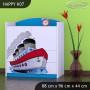 Detská komoda lodička - TYP 7