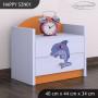 Detský nočný stolík DELFÍN - TYP 1